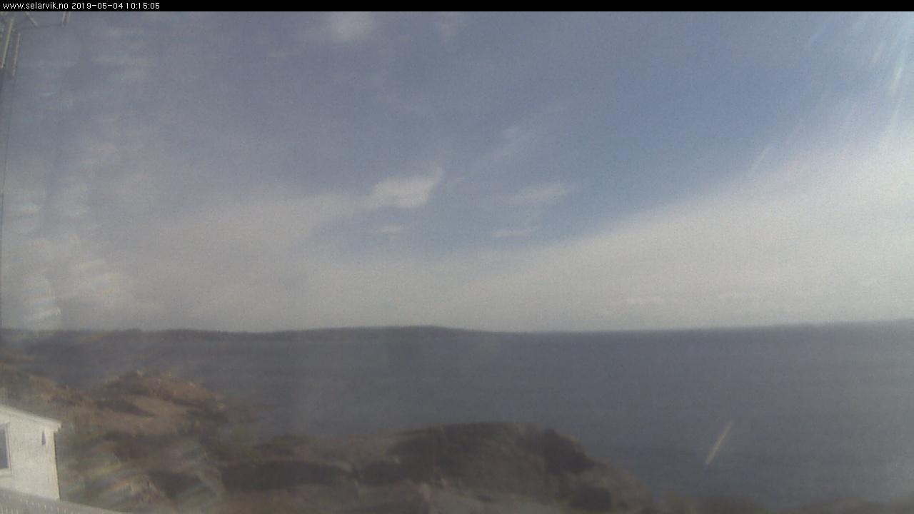 Webkamera - Stavernsodden fyr mot øst - Malmøya